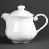 Olympia Rosa Teapots 696ml (Pack of 4)
