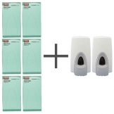 SALE OFFER 6 Rubbermaid Anti Bacterial Foam Soaps and 2 FREE Dispensers