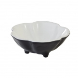 APS Fullies Footed Bowl Black 50ml