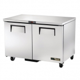 True Double Door Undercounter Freezer TUC-48F-HC