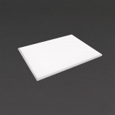 Hygiplas Extra Thick High Density White Chopping Board Large