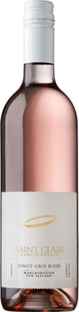 Saint Clair - Pinot Gris Rose 2018 (75cl Bottle)