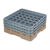 Cambro Camrack Beige 36 Compartments Max Glass Height 174mm