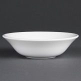 Bulk Buy Pack of 36 Olympia Whiteware Oatmeal Bowls 150mm x36