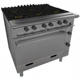 Falcon Chieftain 6 Burner Propane Gas Oven Range G1066X