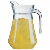 Arcoroc Glass Jugs 1Ltr (Pack of 6)