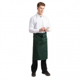 Whites Regular Bistro Apron Green