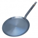 De Buyer Mineral B Black Iron Crepe Pan 240mm