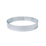 Matfer Bourgeat Stainless Steel Mousse Ring 45 x 160mm