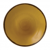 Dudson Harvest Dudson Mustard Deep Coupe Plate 255mm (Pack of 12)