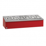 Parry Ambient Table Top Salad Bar AMTT-RED