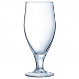 Arcoroc Cervoise Nucleated Stemmed Beer Glasses 320ml CE Marked at 284ml (Pack of 24)