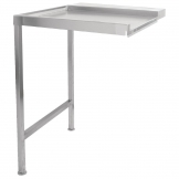 Classeq Pass Through Dishwasher Table Left Hand 650mm