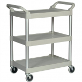 Rubbermaid Compact Utility Trolley Platinum