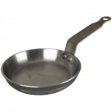 De Buyer Mineral B Black Iron Blinis Pan 120mm