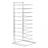 Vogue Pizza Pan Stacking Rack 11 Slot