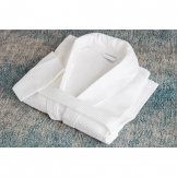 Mitre Comfort Langley Bathrobe White Large