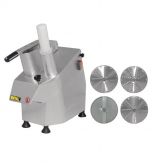 Buffalo Continuous Veg Prep Machine with 4 Discs