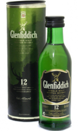 Glenfiddich - 12 Year Old Miniature (12 x 5cl Miniatures)