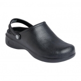 Slipbuster SJ Chef Clog Black 38