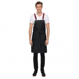 Chef Works Urban Berkeley Denim Brace Bib Apron Dark Indigo