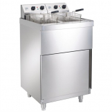Parry Twin Tank Twin Basket Free Standing Electric Fryer NPDPF6