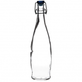 Artis Glass Water Bottles 1Ltr (Pack of 6)