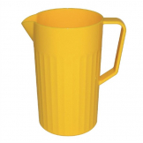 Kristallon Polycarbonate Jug Yellow 1.4Ltr