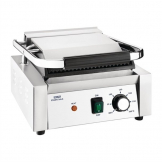 Nisbets Essentials Contact Grill Ribbed Top