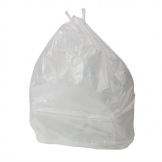 Jantex Small White Pedal Bin Liners 10Ltr (Pack of 1000)