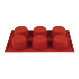 Pavoni Formaflex Silicone Muffin Mould 6 Cup