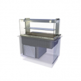 Kubus Drop In Chilled Deli Serve Over Counter 1175mm KCDL3HT