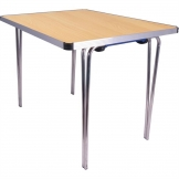 Gopak Contour Folding Table Beech 3ft
