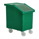 Fletcher Mobile Ingredient Bin 90Ltr Green