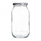 Kilner Round Twist Top Jar 725ml (Pack of 6)