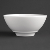 Royal Porcelain Classic White Noodle Bowl 180mm (Pack of 6)