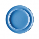 Kristallon Heritage Raised Rim Plates Blue 205mm (Pack of 4)