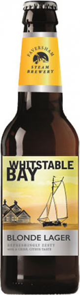 Whitstable Bay - Blonde Lager (24x 330ml Bottles)