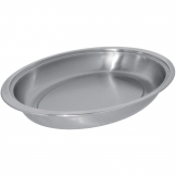 Serving Dish Stainless Steel Oval 7.5Ltr