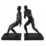 Male Statue Bookends