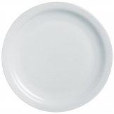 Arcoroc Opal Hoteliere Narrow Rim Plates 193mm (Pack of 6)