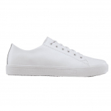 Shoes for Crews Mens Old School Trainer White Size 40