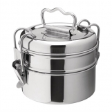 Utopia 2 Tier Tiffin Tin 115mm (Pack of 6)