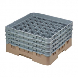 Cambro Camrack Beige 49 Compartments Max Glass Height 215mm