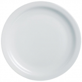 Arcoroc Opal Hoteliere Narrow Rim Plates 155mm (Pack of 6)