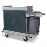 Ultra Housekeeping Trolley with 1 x 100L Bag