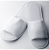 White Waffle Slippers with EVA Sole - 100 Box