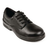 Lites Safety Lace Up Black 44