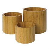 Olympia Bamboo Risers Set of 3