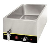 Buffalo Bain Marie with Tap without Pans